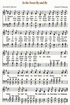 Wonderful memories of my grandfather singing this hymn! From To Thee We sing Board Hymns Of Praise, Praise Songs, Worship Songs, Church Songs, Church Music, Gospel Music, Music Lyrics, Old Time Religion, Bible Songs
