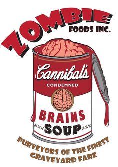 """""""Cannibals."""" Pop art. Comic relief."""