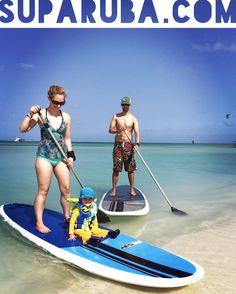 Make your Aruba vacation more fun by paddleboarding at Stand Up Paddle Aruba!     www.suparuba.com