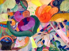 "Saatchi Online Artist: robert j kaczmarek; Paper, 2012, Assemblage / Collage ""HEART OF HANA MAUI"""
