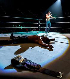 Dean Ambrose vs. Seth Rollins , WWE Live Event in Brisbane, Australia, August 2015