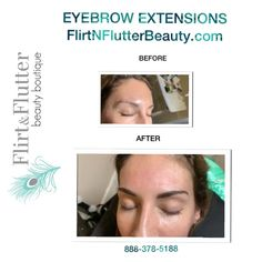 Looking for a temporary solution to your sparse eyebrows for the holiday season? Check out #eyebrowextensions  at #flirtnflutterbeauty Get the most glamorous and natural look for your brows without the aid of #Microblading or #permanentmakeup #browextensions are great for those who want to do a trial run before committing to long term or permanent effects on their brows. Turn your brows into Masterpieces