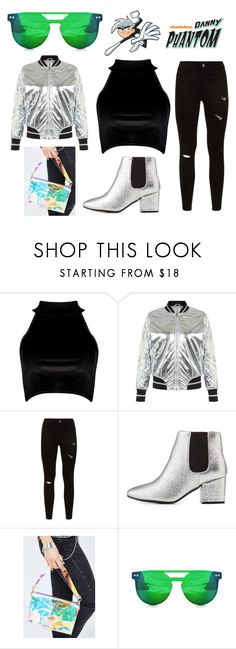 """Danny Phantom"" by jhmb on Polyvore featuring Boohoo, Blue Vanilla, Bamboo, 3 AM Imports and Spitfire"