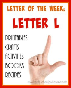 If you're teaching the letter L, check out these resources! From {free}… Preschool Letters, Preschool Themes, Teaching The Alphabet, Student Teaching, Alphabet Activities, Book Activities, Alphabet For Toddlers, Toddler Alphabet, Letter L Crafts