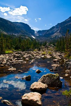 Rocky Mountain National Park, Colorado. Free admission to all US National Parks this week (4/22 - 4-26)