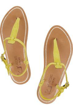 32a40ff0b K Jacques St Tropez - Buffon nubuck leather sandals