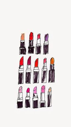 Lipstick ★ Find more fashionable wallpapers for your + Backgrounds For Your Phone, Wallpaper For Your Phone, Cool Wallpaper, Pattern Wallpaper, Wallpaper Backgrounds, Drawing Wallpaper, Parfum Chanel, Fashion Wallpaper, Cute Pattern