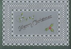 Patterns : Aileen Childs Parchment Patterns, The Art of Parchment Vellum Paper, Paper Cards, Parchment Design, Parchment Cards, Theme Noel, Free Pattern, Christmas Cards, Card Making, Crafts