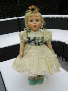 19  Rare Character Lenci Doll All Original 1930s