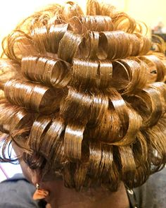 Curl Curl, Bridal Hair Updo, Pin Curls, Curlers, Perm, Curled Hairstyles, Updos, Hair Styles, Beauty
