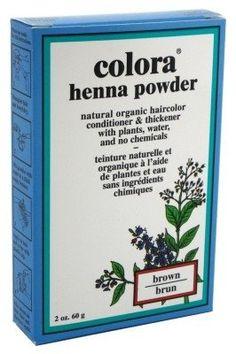 Colora Henna Powder Hair Color Brown 2oz (3 Pack) *** Continue @ http://www.amazon.com/gp/product/B00GMPDJ32/?tag=passion4fashion003e-20&hi=060816144834