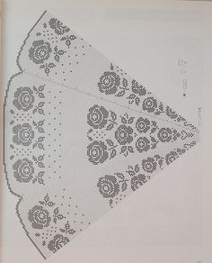Home Decor Crochet Patterns Part 136 - Beautiful Crochet Patterns and Knitting Patterns Crochet Doily Patterns, Crochet Chart, Thread Crochet, Crochet Motif, Crochet Doilies, Crochet Stitches, Knitting Patterns, Crochet Home, Cute Crochet