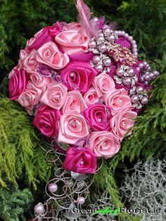 Brooch Bouquets, Green Art, Artificial Flowers, Dublin, Bridesmaids, Rose, Shop, Plants, Pink