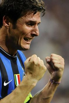 Javier Zanetti, best Inter captain ever! Football Icon, Football Soccer, Football Tattoo, Pier Paolo Pasolini, World Library, Indoor Soccer, Coins For Sale, Writers And Poets, Sports Images