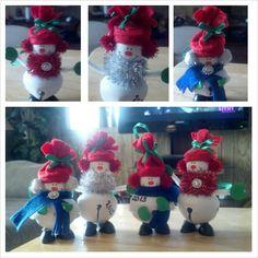 Snowman ornament $3 each.... Day's