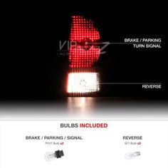 [DARK CHERRY RED] 2007-2008-2009-2010 Jeep Grand Cherokee Rear Tail Lights Lamps