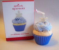 It's Snowing Sweetness!  Christmas Cupcakes Series #4.  Hallmark Ornament, 2012.