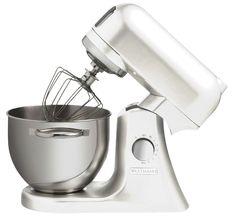 Wartmann Keukenmachine Gebroken wit 1000 WATT Wilt u mixen, kloppen en mengen dan is deze Wartmann standmixer keukenmachine met een vermogen van maar liefst 1000 Watt een uitstekende keuze. De Wartmann standmixer keukenmachine heeft een stevige behuizing van gegoten aluminium en een mooie, klassieke, vormgeving. € 349,95