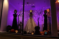 Alexandra's Bridal Boutique Halloween Window by Joel Benson, Fall ...