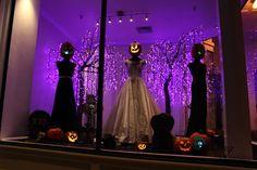 Alexandra's Bridal Boutique Halloween Window by Joel Benson, Fall ...