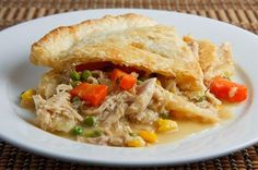 Healthy leftover turkey pot pie