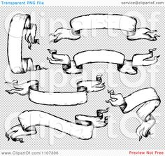 Clipart-Black-And-White-Sketched-Ribbon-Banners-Royalty-Free-Vector-Illustration-10241107396.jpg (1080×1024)