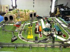 lionel d-192 dealer display layout | o gauge railroading on line forum  #hobbytrains