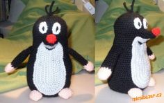 Krteček 3D. Crochet Gratis, Crochet Dolls, Knit Crochet, Diy And Crafts, Crafts For Kids, Crochet Animals, Craft Tutorials, Doll Toys, Crochet Projects