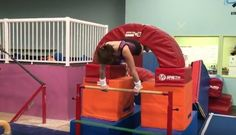 I love this drill! Teach your kids to cast higher on bars with this drill. www.recgympros.com
