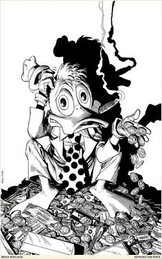 Howard the Duck by Brian Bolland
