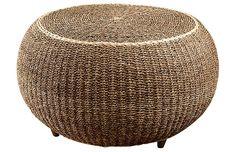 Inari Woven Coffee Table, Natural $525.00