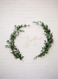 Love this for a wedding background. photo by http://www.erinjsaldana.com/ - http://ruffledblog.com/romantic-organic-wedding-at-elysian-la | Ruffled