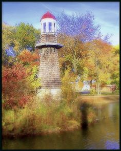 Lighthouse In Autumn: Lake Frances, Palmer Park--Detroit MI | Flickr - Photo Sharing!