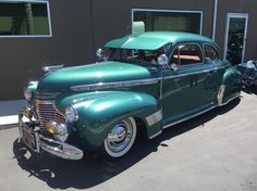 Clean 41' Chevy at Tribal Legacy show 2015