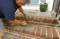 with This Old House general contractor Tom Silva | thisoldhouse.com | from How to Repoint Brick Steps