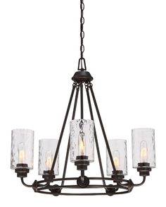 Calumet 5-Light Candle-Style Chandelier