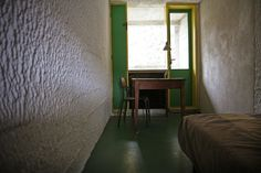 Monk Cell, La Tourette Monastery by Garrett Rock, via Flickr