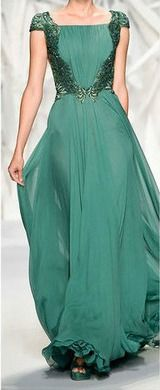 PastelGreen Long Dress