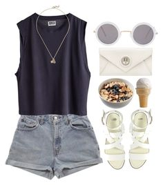 """""""Sin título #117"""" by maartinavg ❤ liked on Polyvore featuring Levi's, ASOS, Mimco and Aamaya by Priyanka"""