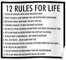 12 rules for life jordan peterson version 1 - Poster Life Skills Kids, Life Lessons, Fail Blog, Ramadan, Hymen, Encouragement, Jordan Peterson, Self Care Activities, Life Rules