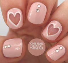 Nail Ideas: 28 Valentine's Day Nails We'd Love to Wear All Feb...