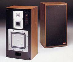 SONY APM-77/APM-77W  1981 Sony Speakers, Audio Design, High End Audio, Hifi Audio, Loudspeaker, Audio Equipment, Audio System, Audiophile, Science And Technology