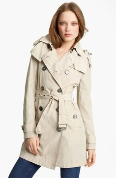 Burberry Brit Packable Trench