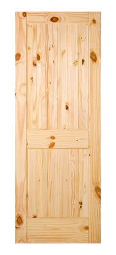 With its characteristic rich grain and knots, the knotty pine species is a beautiful addition to any rustic or country-style home. Our Knotty Pine doors come in