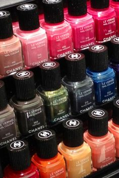 Chanel Le Vernis Nail Colours