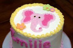Elephant-Themed Birthday Cake   Flickr - Photo Sharing!