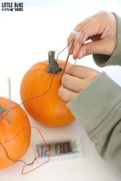Halloween Pumpkin Clock