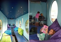 BiebBus: Amazing Dutch Children's Library Pops Up Inside a Shipping Container BiebBus (5) – Inhabitat - Green Design, Innovation, Architecture, Green Building