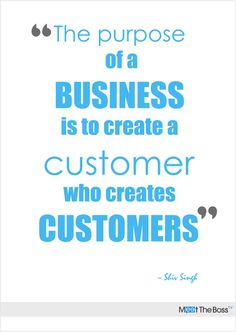 Business of customers