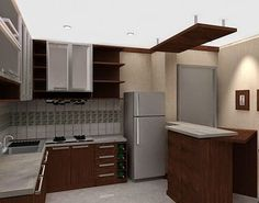Model Kitchen Set Minimalis modern terbaru